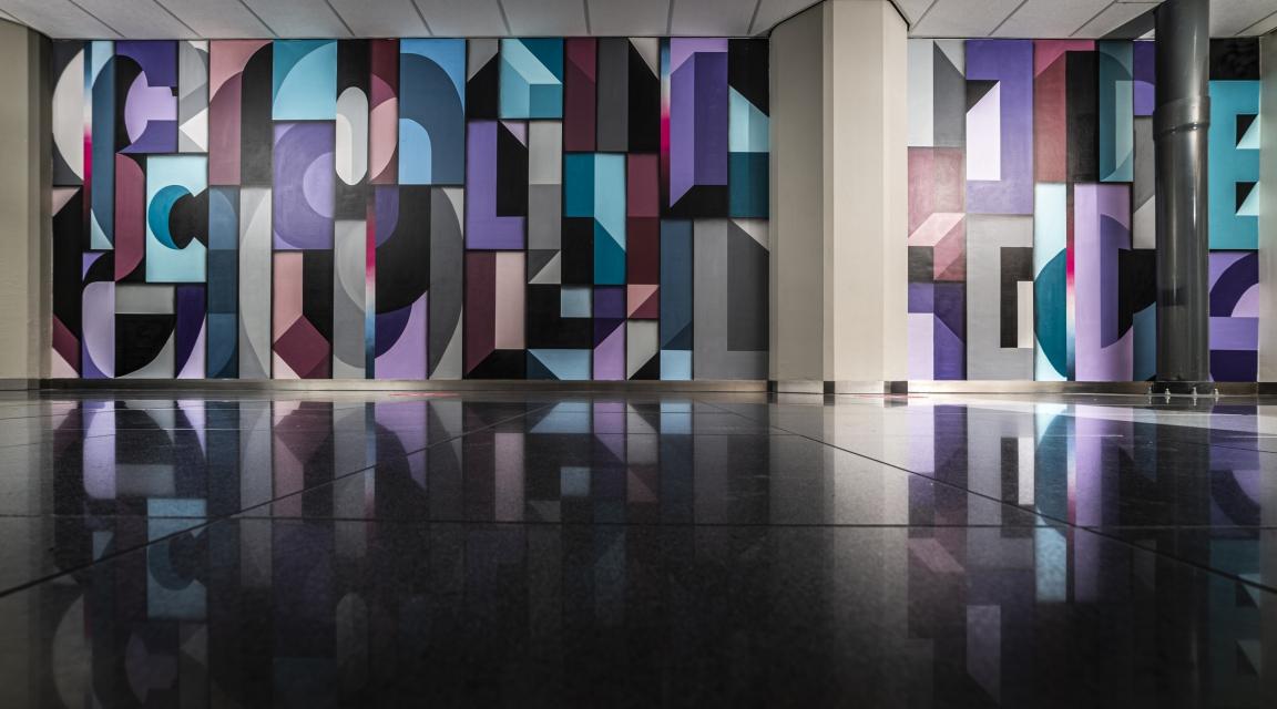 Collision Project gebruikt Groot Handelsgebouw als canvas voor kunsttalent