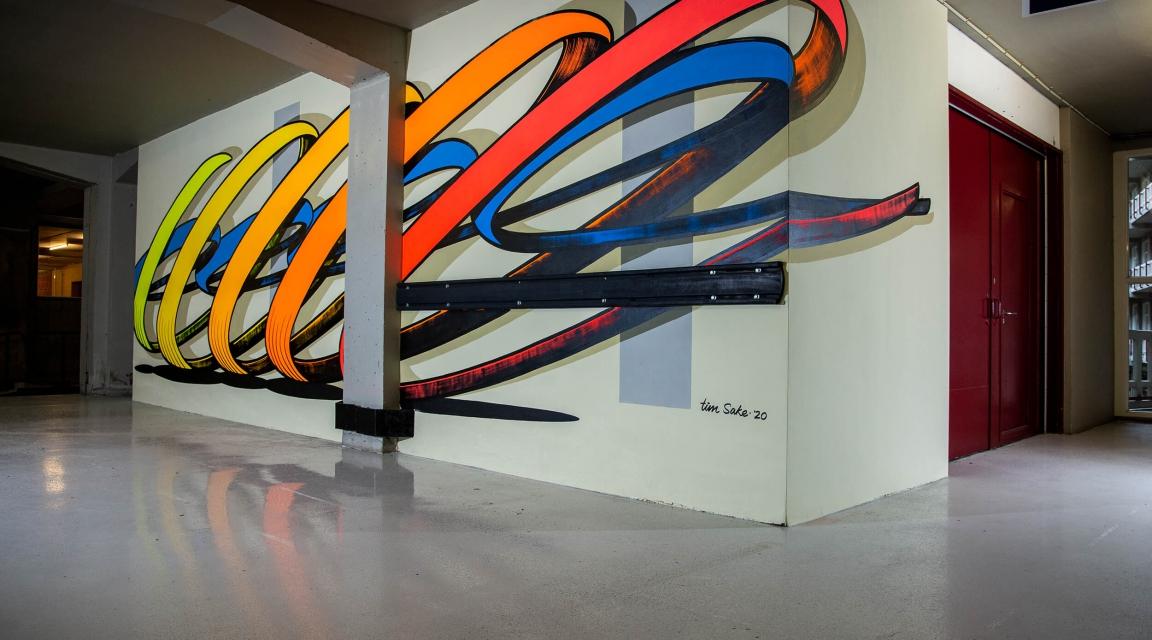 Collision Project brengt nieuw kunstwerk naar Groot Handelsgebouw
